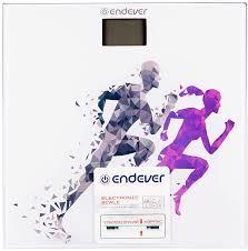 Купить <b>Напольные весы ENDEVER Aurora</b>-<b>562</b>, цвет: рисунок в ...