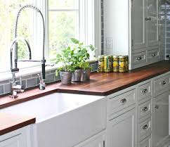 Kitchen Fresh White Cabinet Colour And Farmhouse Sink Feat Ultra