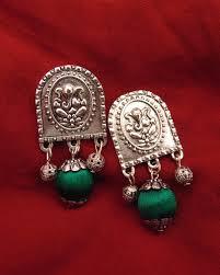 Designer Earrings Online Shopping India Buy Earrings Of Jewellery Handcrafts Product Online In India