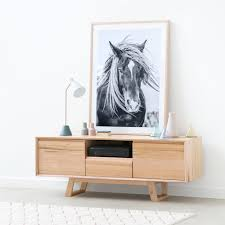 oz designs furniture. the midcentury inspired baxter buffet and a gorgeous horse print oz designs furniture