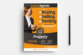 Real Estate Flyer Template In Psd Ai Vector Brandpacks