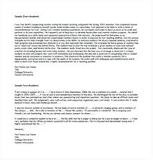 sample letter of recommendation for college application college recommendation letter reference template for