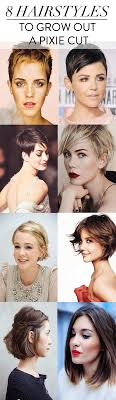 8 hairstyles to grow out a pixie cut