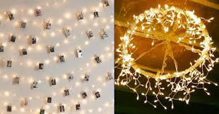 string light diy ideas cool home. Fine Cool Cool DIY Ideas With String Lights Home Design Inspiration Amazing Diy  Lighting 10 Affordable Creative Light Fixtures Designertrapped Com From Throughout