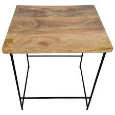 Barhocker Lounge Design Tresenhocker Holz Metall Schwarz