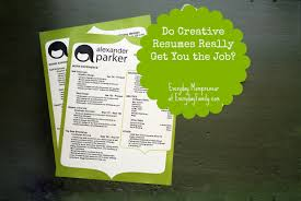 Do Creative Resumes Really Get You The Job
