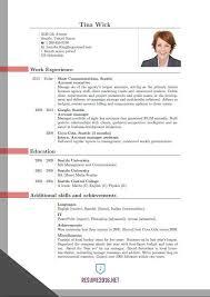 Updated Resume Formats Resume Sample