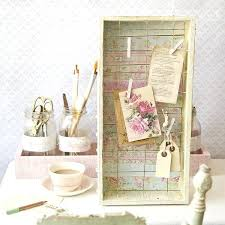 shabby chic office accessories. Awesome Shabby Chic Desk Accessories Pictures Decor Memo Board White . Office