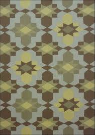 grey and yellow area rug full size
