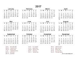 Excel Yearly Calendar Template 2017 Calendar Template Excel Fiscal Year Calendar Yearly Calendar