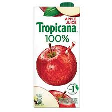 apple food. tropicana 100% juice - apple, 1 ltr apple food