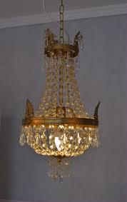 Details Zu Kronleuchter Jugendstil Deckenlüster Shabby Chic Glaskristall Lampe Lüster Neu