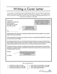 Writing A Cover Letter How To Write A Cover Letter For A Writing