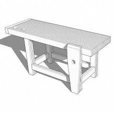 2x6 bench hot tool organizer