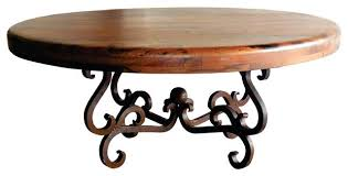 48 round coffee table round wrought iron coffee table w round mesquite wood top 48 inch 48 round coffee table iron glass inch