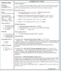 Multiple Page Resume Sample Ceciliaekici Com