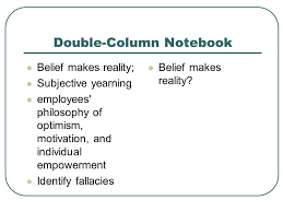 "belief makes reality"" by charles p clark essays essays ppt  4 double column"