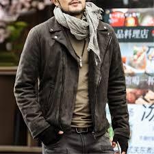 2019 whole 2017 men motorcycle bikers zipper jacket men slim european style winter fashion leather jackets men cotton high quality jacket from dalivid