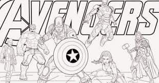 marvel announces coloring book edition of avengers so you can draw heroes wver the race you want