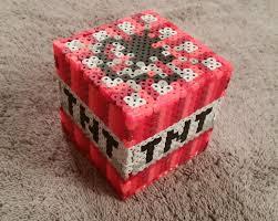 17 best images about minecraft projects perler bead minecraft tnt block perler hama fuse bead sprite