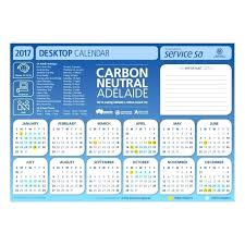 2017 desk calendar template desktop pad