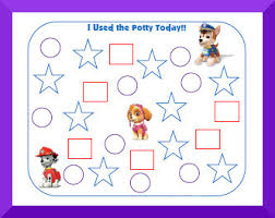 Potty Chart Free Using Potty Training Charts