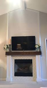 reclaimed wood mantle image result for reclaimed wood mantle white tile fireplace with and stone fireplace
