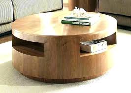 solid wood storage coffee table round storage coffee tables solid round coffee table large round coffee