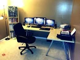 Computer office desk Shaped Diy Gaming Desk Computer Office Desks Home Desktop Cheap Bestbathrobesclub Diy Gaming Desk Computer Office Desks Home Desktop Cheap
