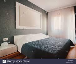 Innenraum Der Kleinen Hotel Oder Haus Schlafzimmer Moderne Möbel