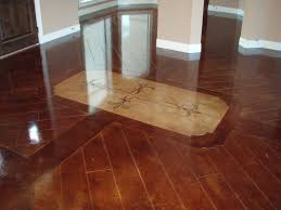 Concrete Wood Floor Like This Colorscored And Stained Concrete Floors Stained