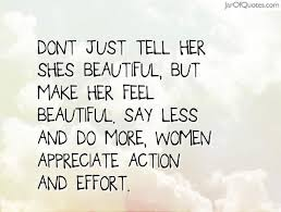 Make Her Feel Beautiful Quotes