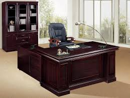 attractive wooden office desk. Desk Superb Executive Office Cherry Finish Solid Wood Construction L Shape 12 Shelf Bookcase Cabinet Attractive Wooden W