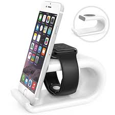 moko apple watch stand phone stand acrylic horizontal charging station dock desk cradle holder