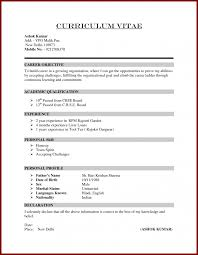 Resume For Job Format Interview Should I Staple My Fair