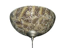 picture of 2264 brown le finish hand made specialty glass bowl light