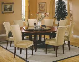 round kitchen table decor ideas. Orange Kerchiefs Dining Room Centerpieces Ideas Tall Crystal Vase Black Brown Motive Carpet White Glass Pendant Lamp Seat Round Kitchen Table Decor