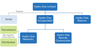 Hydro One Org Chart Hydro One Updated Financial Analysis Of The Partial Sale Of