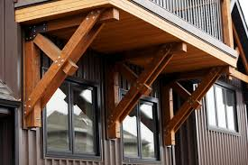 exterior wood brackets. Delighful Wood Porch Support Brackets Bracket Traditional Edmonton Habitat Studio With Exterior Wood A