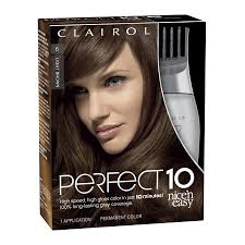Clairol Nice N Easy Perfect 10 Permanent Hair Color 006 Light Brown