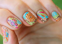 Beautiful nail art - how you can do it at home. Pictures designs ...
