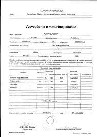 professional achievements karol krajcir maturity a levels certificate
