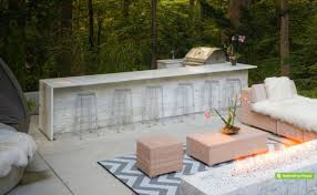 view in gallery outdoor wet bar and bbq