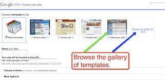 Google Website Templates New Google Website Template Gallery Free Technology For Teachers Google