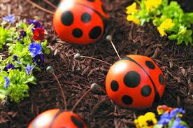 Bowling Ball Decorations Amazing Bowling Ball Garden Art Ladybug Backyard Projects Birds And Blooms