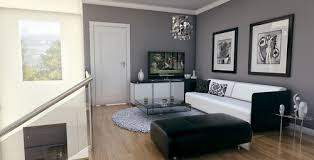 Grey Living Room Walls