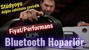 Uygun fiyatlı bluetooth hoparlör Linktech M300 Bluetooth Hoparlör inceleme  - YouTube