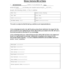 Bill Of Sale For Car Impressive Car Rental Form Template Contract Truck Agreement Automobile Forms