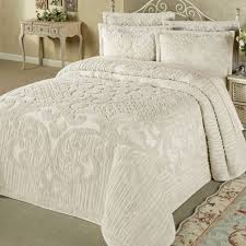 chenille bedspreads queen size. Unique Size Ashton Lightweight Cotton Chenille Bedspread Bedding  Inside  Fresh Bedspreads Queen Size Your Residence Design Intended F