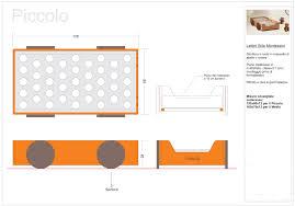 Mobili Cameretta Montessori : Lettino montessori classico big con futon le civette sul comò